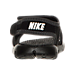 Back view of Boys' Toddler Nike Sunray Adjust 4 Sandals in Black/White/Anthricite