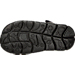 Bottom view of Boys' Toddler Nike Sunray Adjust 4 Sandals in Black/White/Anthricite