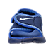 Front view of Boys' Toddler Nike Sunray Adjust 4 Sandals in Binary Blue/Still Blue/Comet Blue