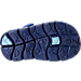 Bottom view of Boys' Toddler Nike Sunray Adjust 4 Sandals in Binary Blue/Still Blue/Comet Blue