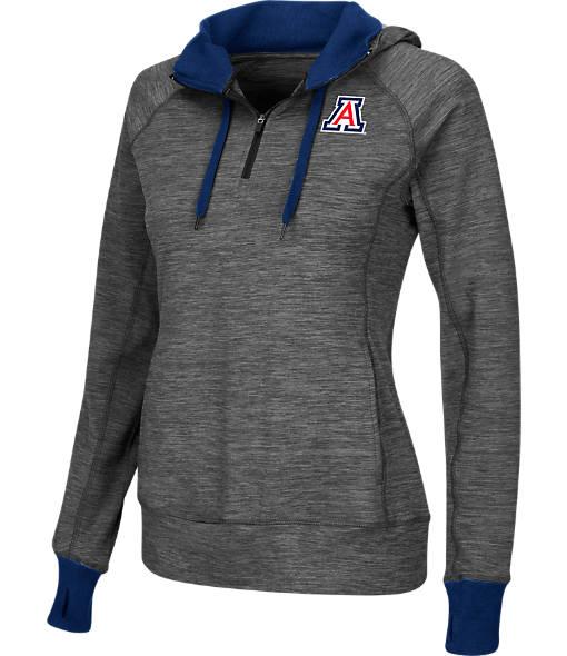 Women's Stadium Arizona Wildcats College Double Back Half-Zip Jacket