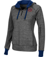 Women's Stadium Auburn Tigers College Double Back Half-Zip Jacket