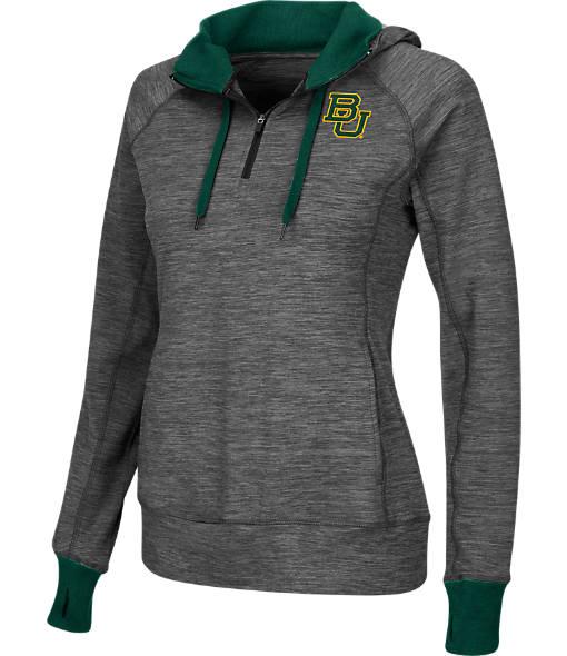 Women's Stadium Baylor Bears College Double Back Half-Zip Jacket