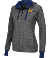 Women's Stadium California Golden Bears College Double Back Half-Zip Jacket