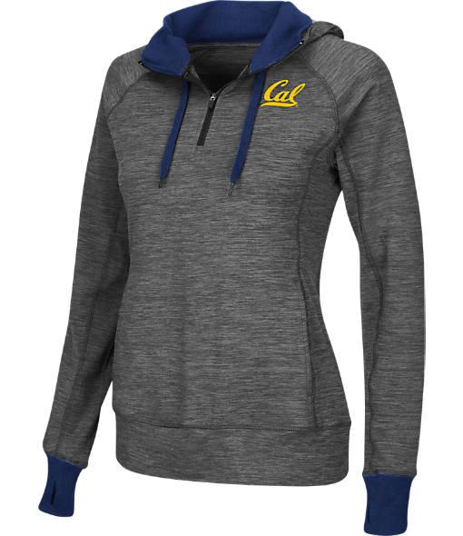 Women's Stadium California Golden Bears College Double Back Half-Zip Jacket