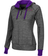 Women's Stadium LSU Tigers College Double Back Half-Zip Jacket