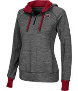 Women's Stadium South Carolina Gamecocks College Double Back Half-Zip Jacket