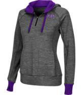 Women's Stadium TCU Horned Frogs College Double Back Half-Zip Jacket