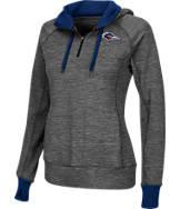 Women's Stadium Texas- San Antonio Roadrunners College Double Back Half-Zip Jacket