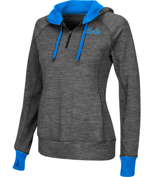 Women's Stadium UCLA Bruins College Double Back Half-Zip Jacket
