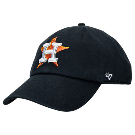 '47 Houston Astros MLB Clean Up Adjustable Back Cap