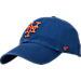 Front view of '47 New York Mets MLB Clean Up Adjustable Back Cap in Team Colors