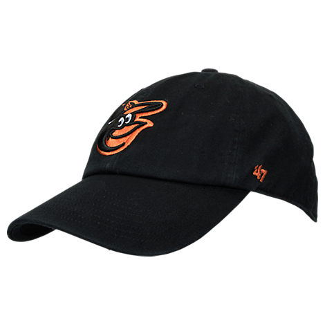 '47 Baltimore Orioles MLB Clean Up Adjustable Back Cap