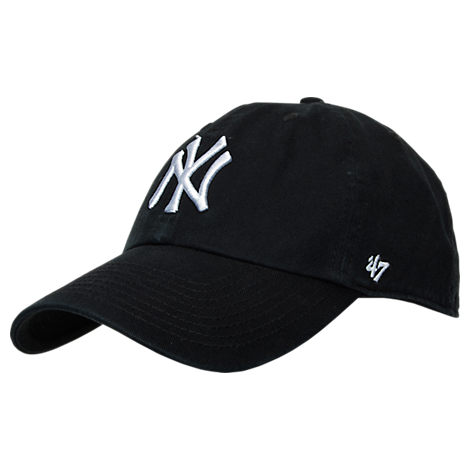 47 Brand New York Yankees MLB Clean Up Adjustable Back Cap