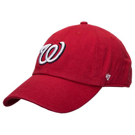 '47 Washington Nationals MLB Clean Up Adjustable Back Cap