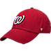 Front view of '47 Washington Nationals MLB Clean Up Adjustable Back Cap in Team Colors