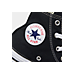 Front view of Kids' Preschool Converse Chuck Taylor Hi Top Casual Shoes in Black
