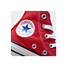 Front view of Boys' Preschool Converse Chuck Taylor Hi in Red