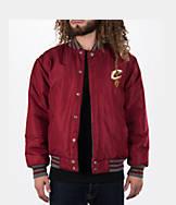 Men's JH Design Cleveland Cavaliers NBA Reversible Wool Jacket