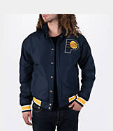 Men's JH Design Indiana Pacers NBA Reversible Zig Zag Jacket