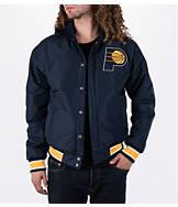 Men's JH Design Indiana Pacers NBA Reversible Zig Zag Jacket
