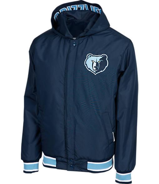 Men's JH Design Memphis Grizzlies NBA Reversible Zig Zag Jacket