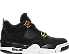 Boys' Grade School Air Jordan Retro 4 Basketball Shoes
