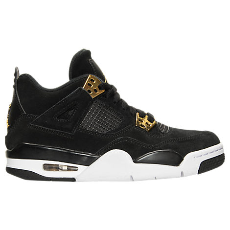 Boys' Grade School Air Jordan Retro 4 Basketball Shoes