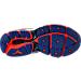 Bottom view of Women's Mizuno Wave Enigma 6 Running Shoes in Blue/Orange