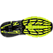 Bottom view of Men's Mizuno Wave Prophecy 6 Runnning Shoes in High Rise/Black/Lime Punch