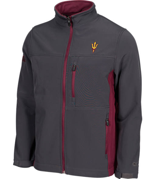 Men's Stadium Arizona State Sun Devils College Yukon II Softshell Full-Zip Jacket