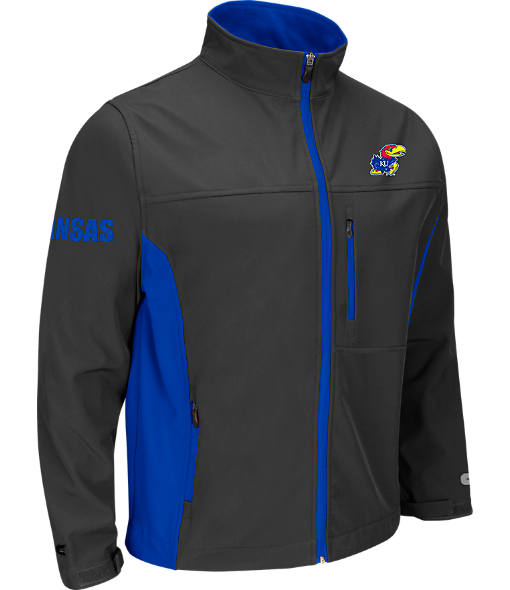 Men's Stadium Kansas Jayhawks College Yukon II Softshell Full-Zip Jacket