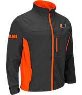 Men's Stadium Miami Hurricanes College Yukon II Softshell Full-Zip Jacket