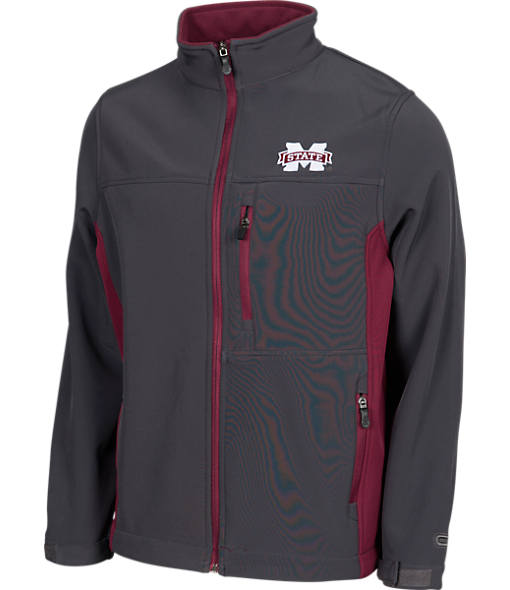 Men's Stadium Mississippi State Bulldogs College Yukon II Softshell Full-Zip Jacket