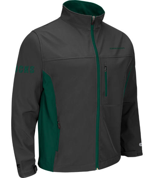 Men's Stadium Oregon Ducks College Yukon II Softshell Full-Zip Jacket