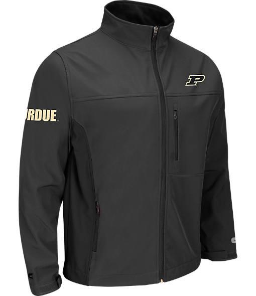 Men's Stadium Purdue Boilermakers College Yukon II Softshell Full-Zip Jacket