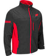 Men's Stadium Wisconsin Badgers College Yukon II Softshell Full-Zip Jacket