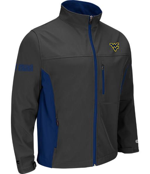 Men's Stadium West Virginia Mountaineers College Yukon II Softshell Full-Zip Jacket