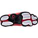 Bottom view of Men's Air Jordan Retro 13 Basketball Shoes in Black/True Red/White