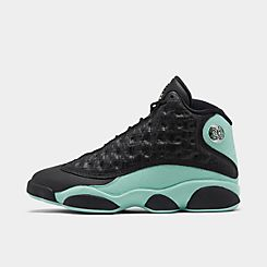 나이키 Nike Mens Air Jordan Retro 13 Basketball Shoes,White/Metallic Silver/Titanium
