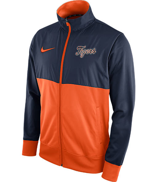 Men's Nike Detroit Tigers MLB Full-Zip Track Jacket