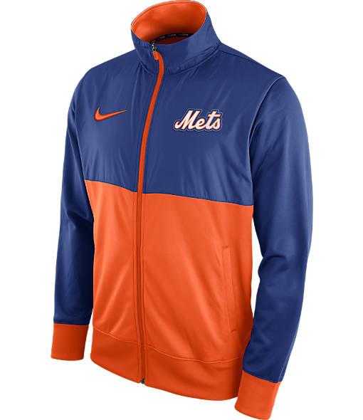 Men's Nike New York Mets MLB Full-Zip Track Jacket