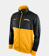 Men's Nike Pittsburgh Pirates MLB Full-Zip Track Jacket