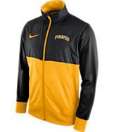 Men's Nike Pittsburgh Pirates MLB Full-Zip Track Jacket