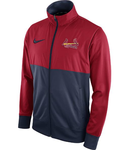 Men's Nike St. Louis Cardinals MLB Full-Zip Track Jacket