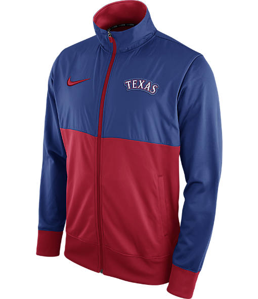 Men's Nike Texas Rangers MLB Full-Zip Track Jacket