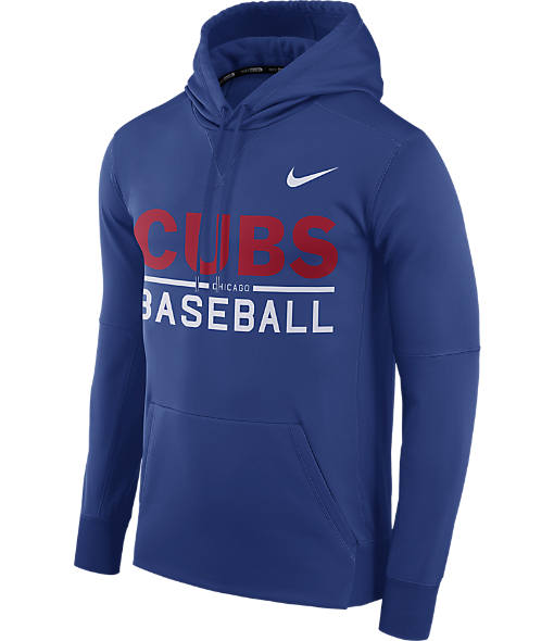 Men's Nike Chicago Cubs MLB GM Therma Hoodie