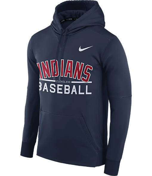 Men's Nike Cleveland Indians MLB GM Therma Hoodie