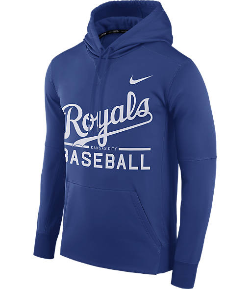 Men's Nike Kansas City Royals MLB GM Therma Hoodie