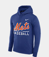 Men's Nike New York Mets MLB GM Therma Hoodie